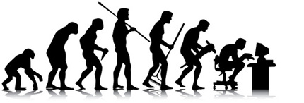 Alexander Techniques lessons evolution of man image