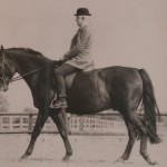 Walter Carrington riding a horse