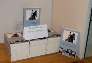 Books - 'Remembering Walter Carrington'